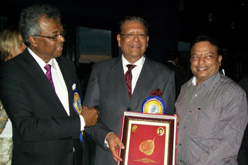 Award from Mauritius President