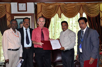 VSOMS of Vels University Signs MOU with Sheffield Hallam University, UK