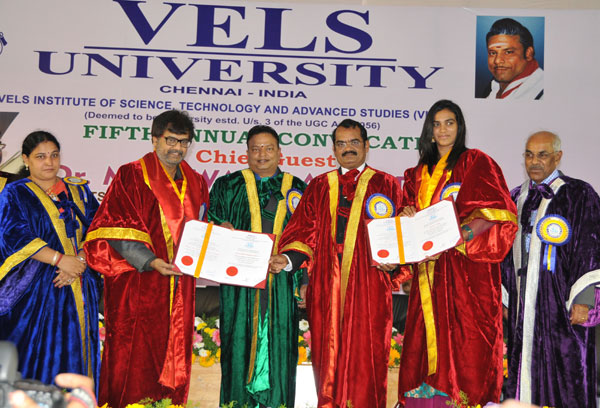 05<sup>th</sup> Annual Convocation of Vels University, on 13 Dec 2014