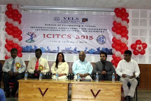 International Conference on Innovative Technologies of Computing Sciences - ICITCS 2015, on 17 - 18 Apr 2015