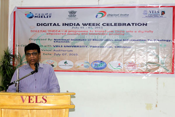 Digital India Week Celebration, on 07 Jul 2015