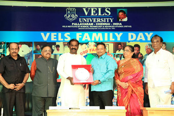 Vels Family Day Celebration, on 07 Oct 2015