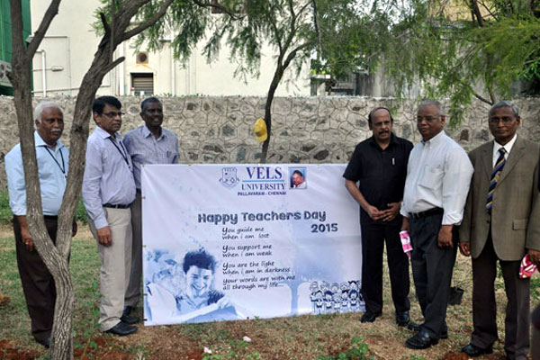 Teachers Day celebrations, on 05 Sep 2015