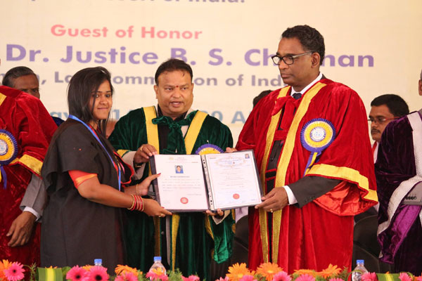 6th Convocation Day, on 07 May 2016