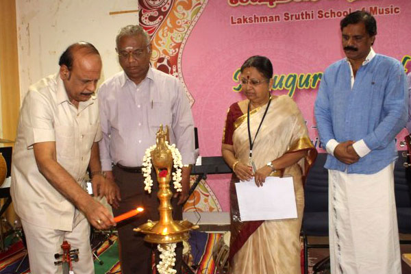 Inauguration of Music and Dance classes at Vels University