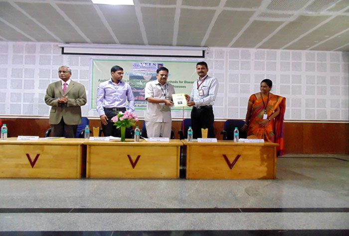 National Science Day, First  National Conference on  Applications of Bio Inspired Computational Methods for Prediction & Management of Lifestyle Diseases, organized by Dept of Bio-Medical Engineering, on 20 & 21 Feb 2017
