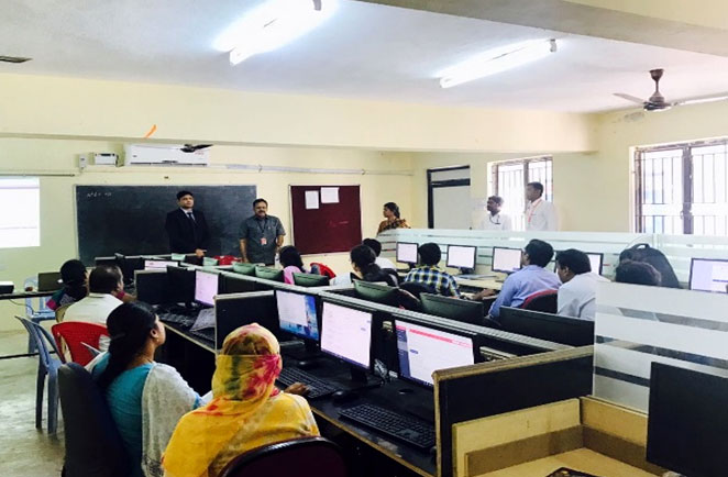 FDP on Oracle Database Programming Using PL/SQL, organized by Dept of Computer Applications & School of Computing Sciences, on 30 Jan - 03 Feb 2017