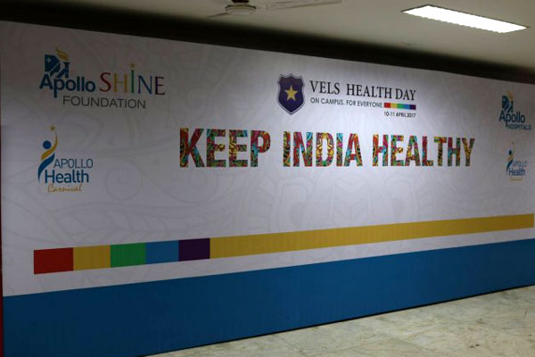 Vels Health Day, on 10 & 11 Apr 2017