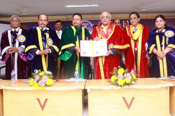 Special Convocation - Honoris Causa Awardees, on 17 Mar 2017