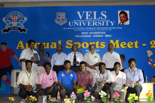 Vels Annual Sports Meet 2017, on 15 Mar 2017