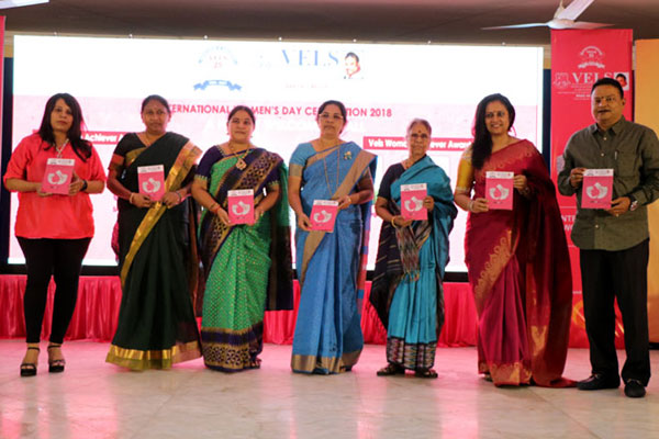 International Women's Day and conferment of Vels Woman Achiever Award 2018, on 07 Mar 2018