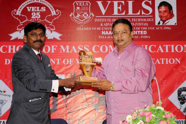Vels Media Craft 2018, organised by School of Mass Communication, on 27 & 28 Feb 2018