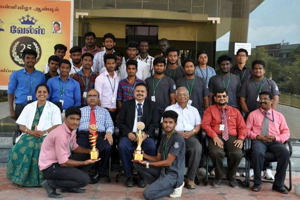 Our students have won prizes in various categories (1st Prize in 1500 metre athletes; 3rd Prize in Javelin Throw; Runner up in Basketball & Runner up in Kabbadi), in an inter college event, held in Sri Ramachandra Medical College and Research Institute, on 15 -17 Feb 2018