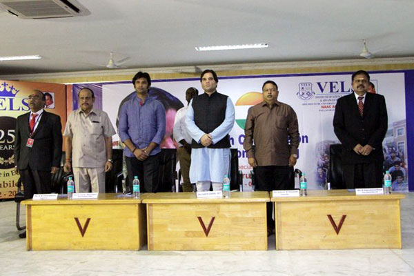 Youth Conclave on Nation Building, inaugurated by Mr.Varun Gandhi, on 25 Jan 2018