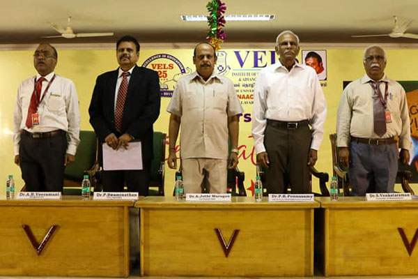 Teachers Day celebrations, Cheif Guest address by Dr.P.K.Ponnusamy, Former Vice Chancellor, University of Madras and Madurai Kamaraj University, on 05 Sep 2018