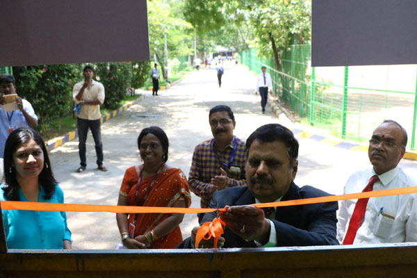 A New Green Canteen, inaugurated on 05 Sep 2018