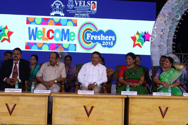 Welcome Freshers 2018, on 16 Jul 2018